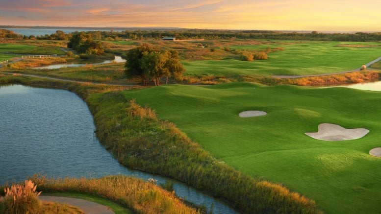 The Tribute Golf Links at the Colony, Texas.