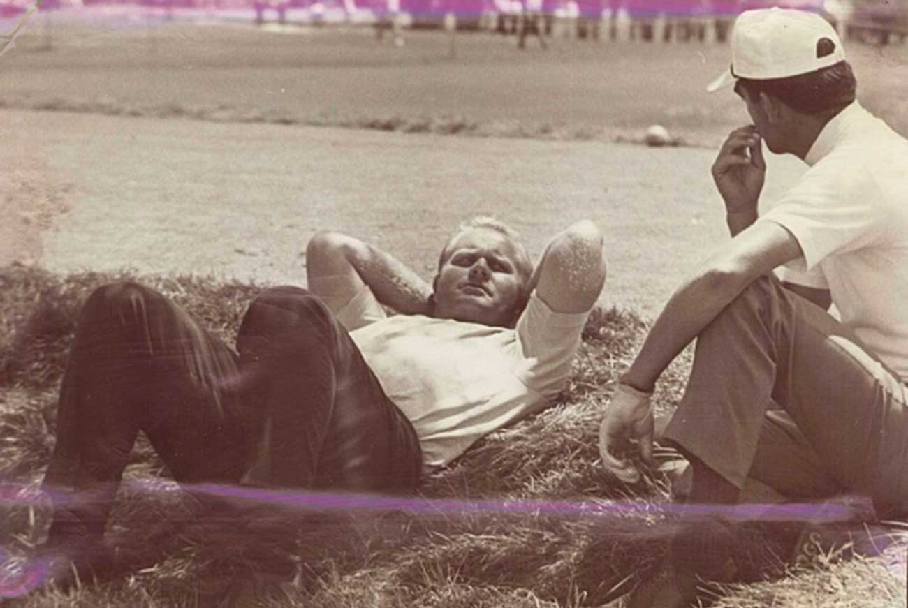 Tension reached its peak at the 1967 PGA, where Jack and 13-time Tour winner Dave Hill took relief from a hazard: the raging work dispute.