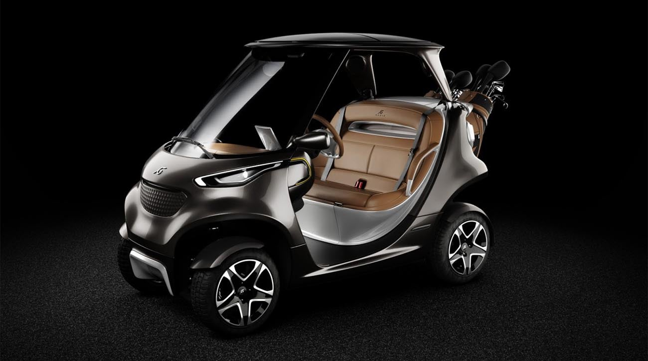 Here are 7 of the most tricked-out, expensive golf carts