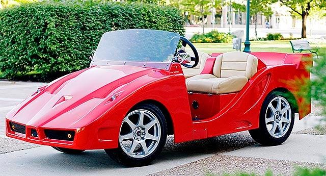 F5 Golf Cart