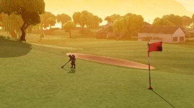 Fortnite golf