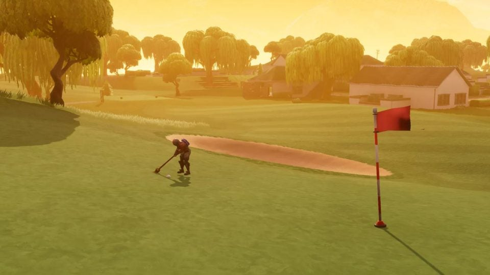 Fortnite golf