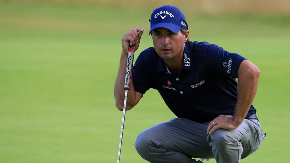 Kevin Kisner's putting has kept him in the big tournaments.