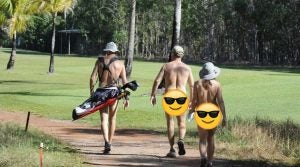 Nude Golf Day