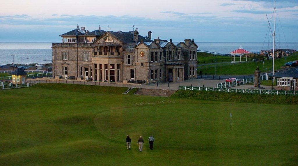It's hard to top the history behind the Old Course at St. Andrews.