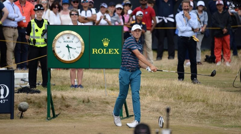 Does Jordan Spieth get a pass for his major championship blowups?