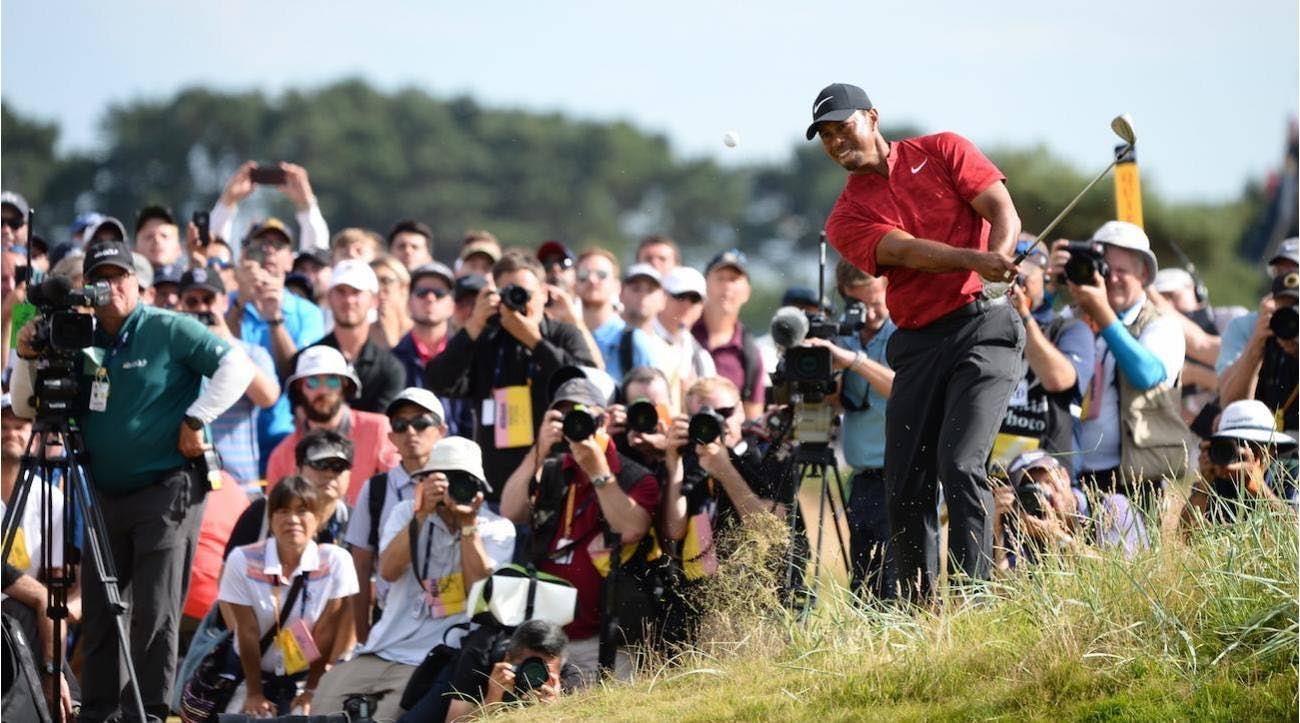 Tiger Woods, Sunday, 2018 British Open