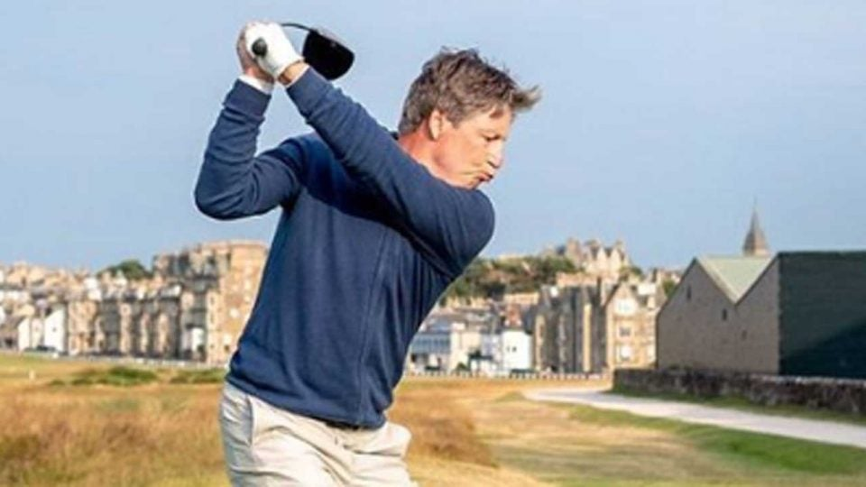 Brandel Chamblee will tee it up at the Old Course this week.