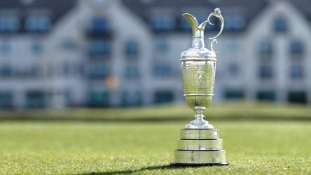 British Open odds, claret jug