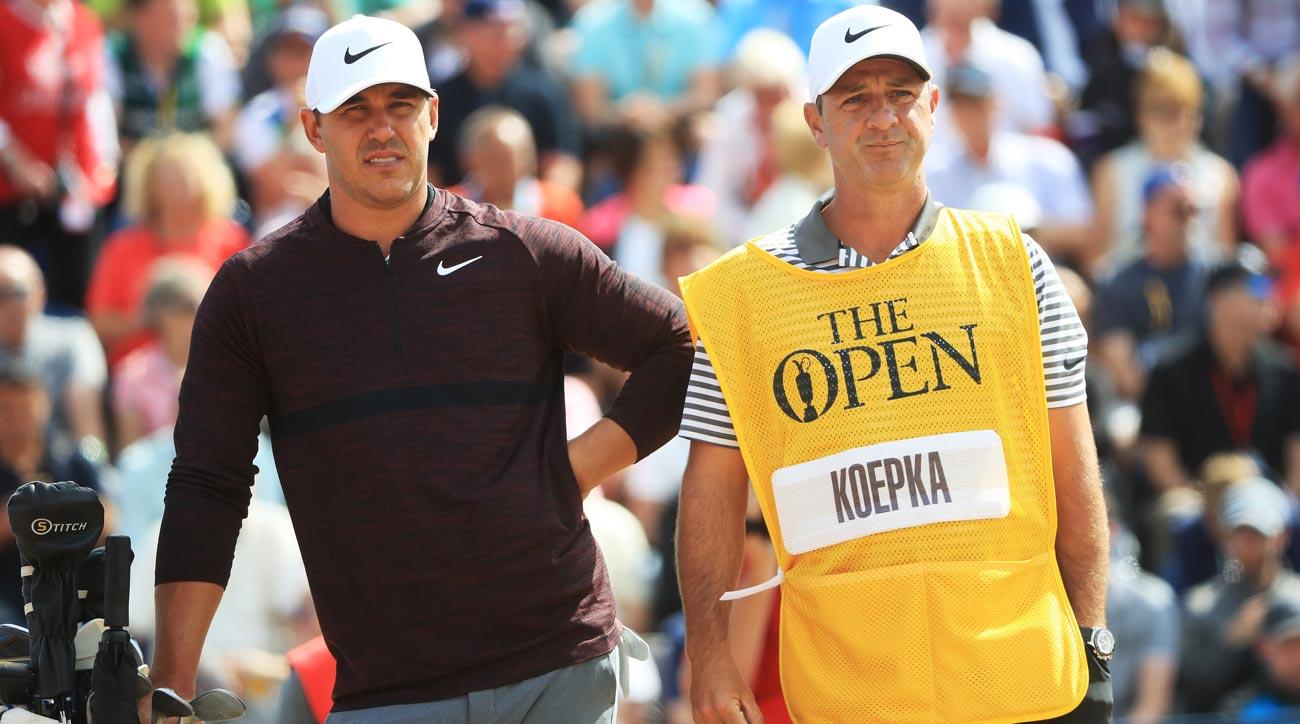 Brooks Koepka, British Open first round