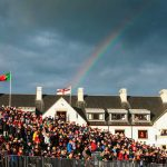 Carnoustie during British open