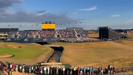 Carnousite round one at the Open