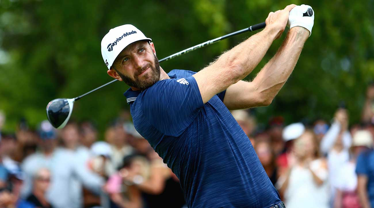 Dustin Johnson ran away from the field on Sunday to win the RBC Canadian Open.