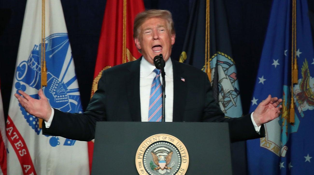 Donald Trump at Greenbrier