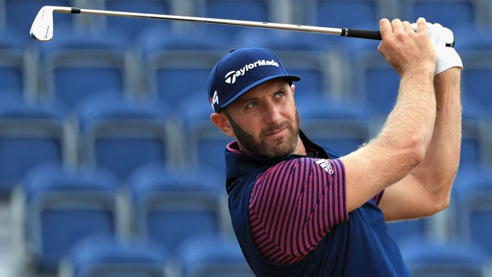 2018 Open, Dustin Johnson