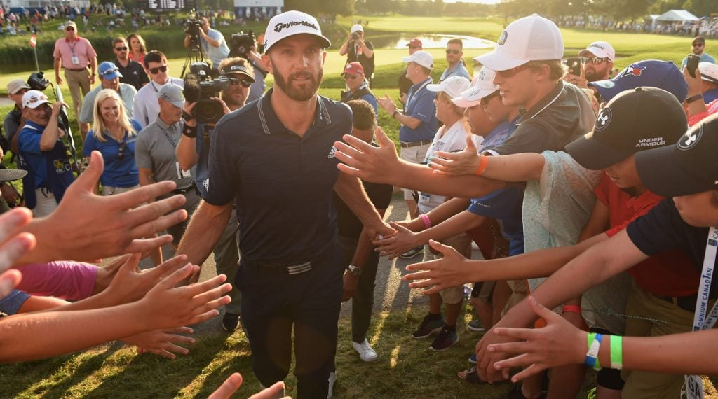 dustin johnson bridgestone invitational betting odds