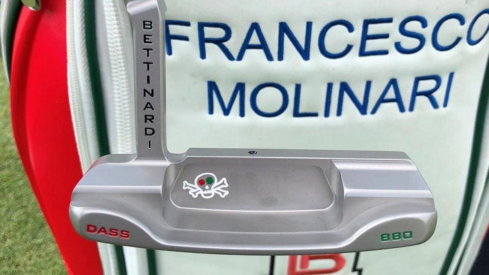 Francesco Molinari Bettinardi puter at Quicken Loans National 2018