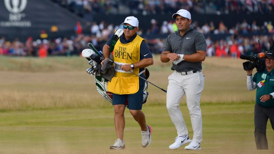 Francesco Molinari clubs, 2018 British Open