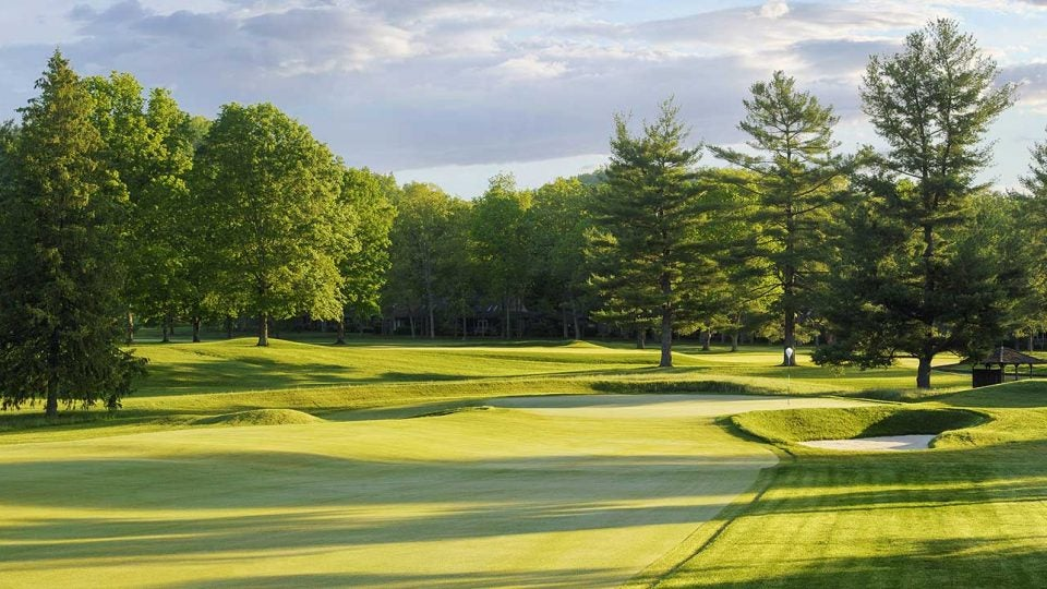 The Greenbrier Old White TPC course