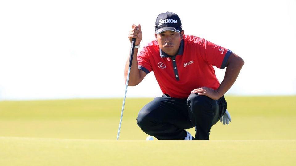 hideki matsuyama rules of golf