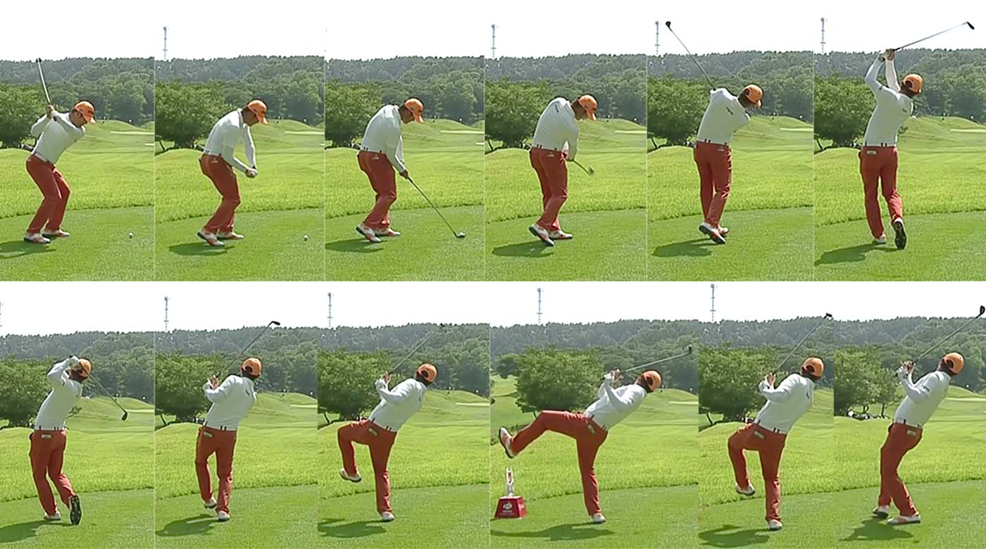 Hosung Choi and his crazy swing caught the attention of the golf world.