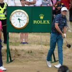 Instead of repeating as British Open champion, Jordan Spieth shot 76 on Sunday and dropped down the leaderboard.