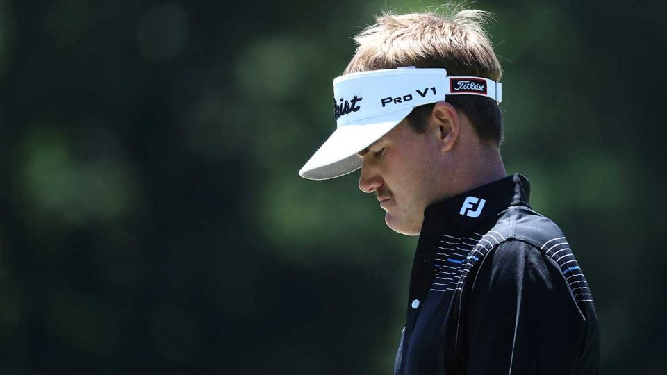 John Peterson put together a terrific round on Sunday, but it wasn't quite enough.