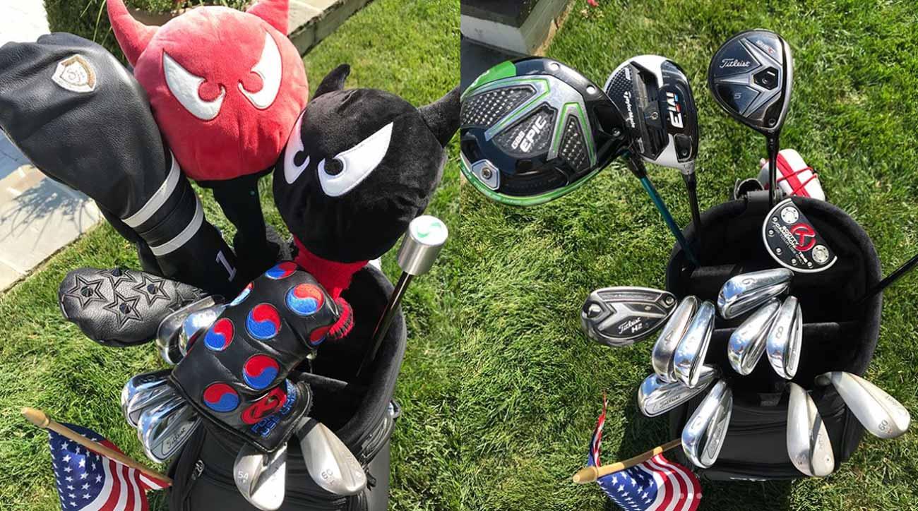 Kevin Na golf clubs