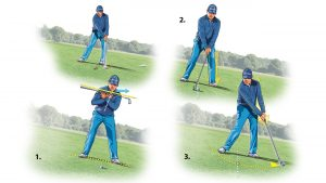 Learn how to conquer any downhill lie