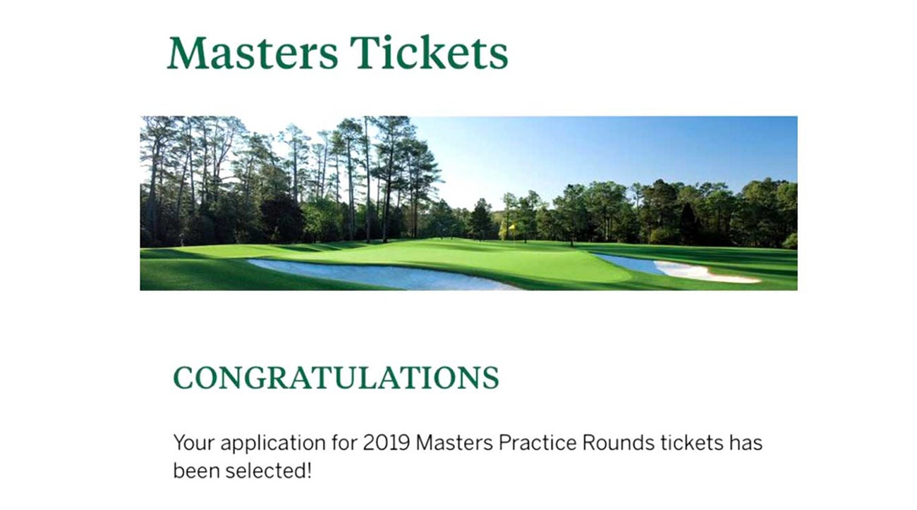 masters lottery ticket winners announced  leading to both rejoice and despair
