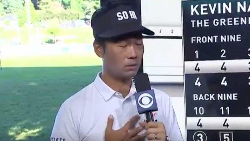 Kevin Na emotional wins Greenbrier