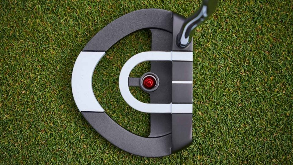 New Odyssey Red Ball putter.