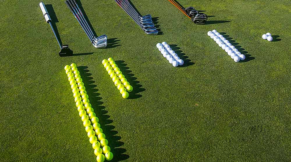 Dave Pelz has a tip to help you practice better and improve your scores.