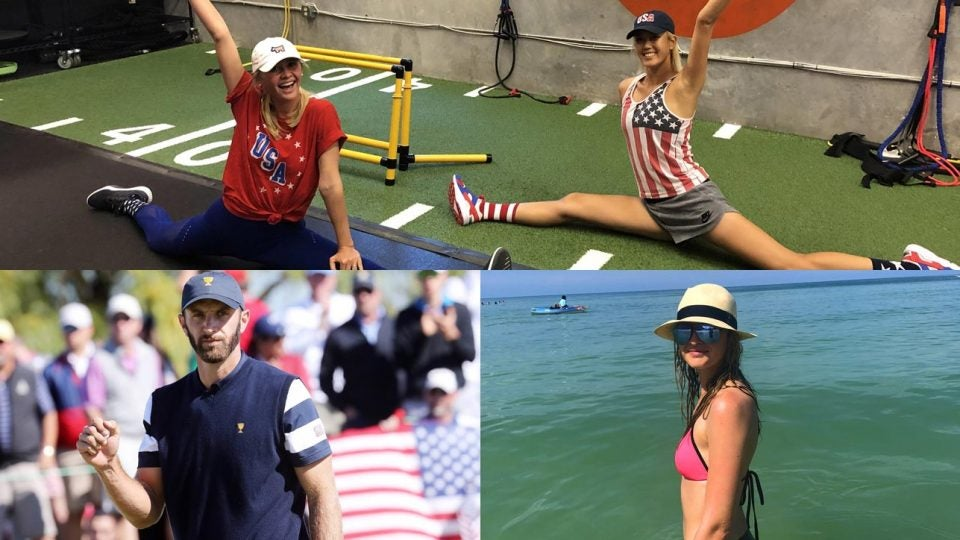 PGA pros celebrate 4th of July
