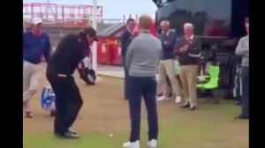 Phil Mickelson British Open flop shot