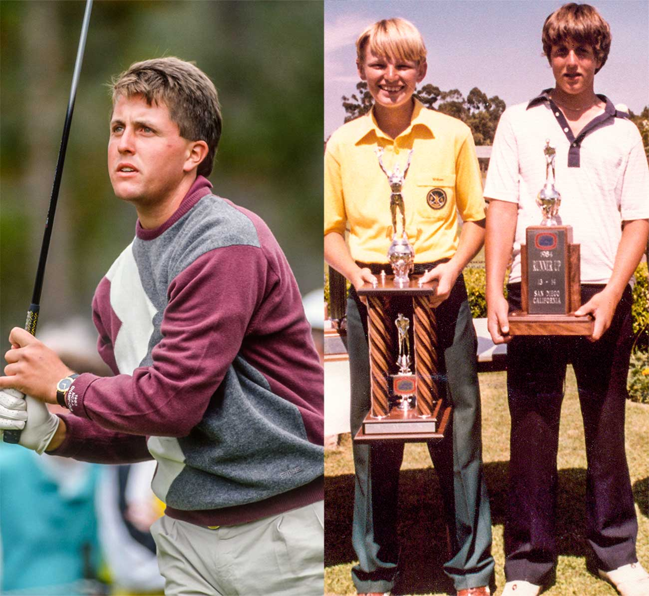 Young Phil Mickelson