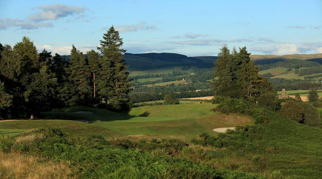 queen's course gleneagles scotland