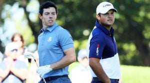 Rory McIlroy and Patrick Reed
