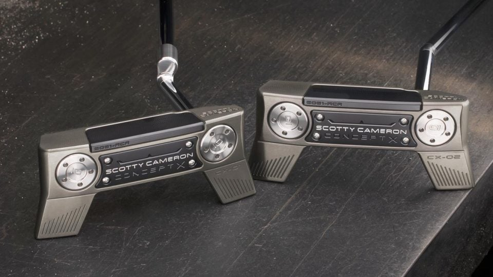 Scotty Cameron Concept X putter models