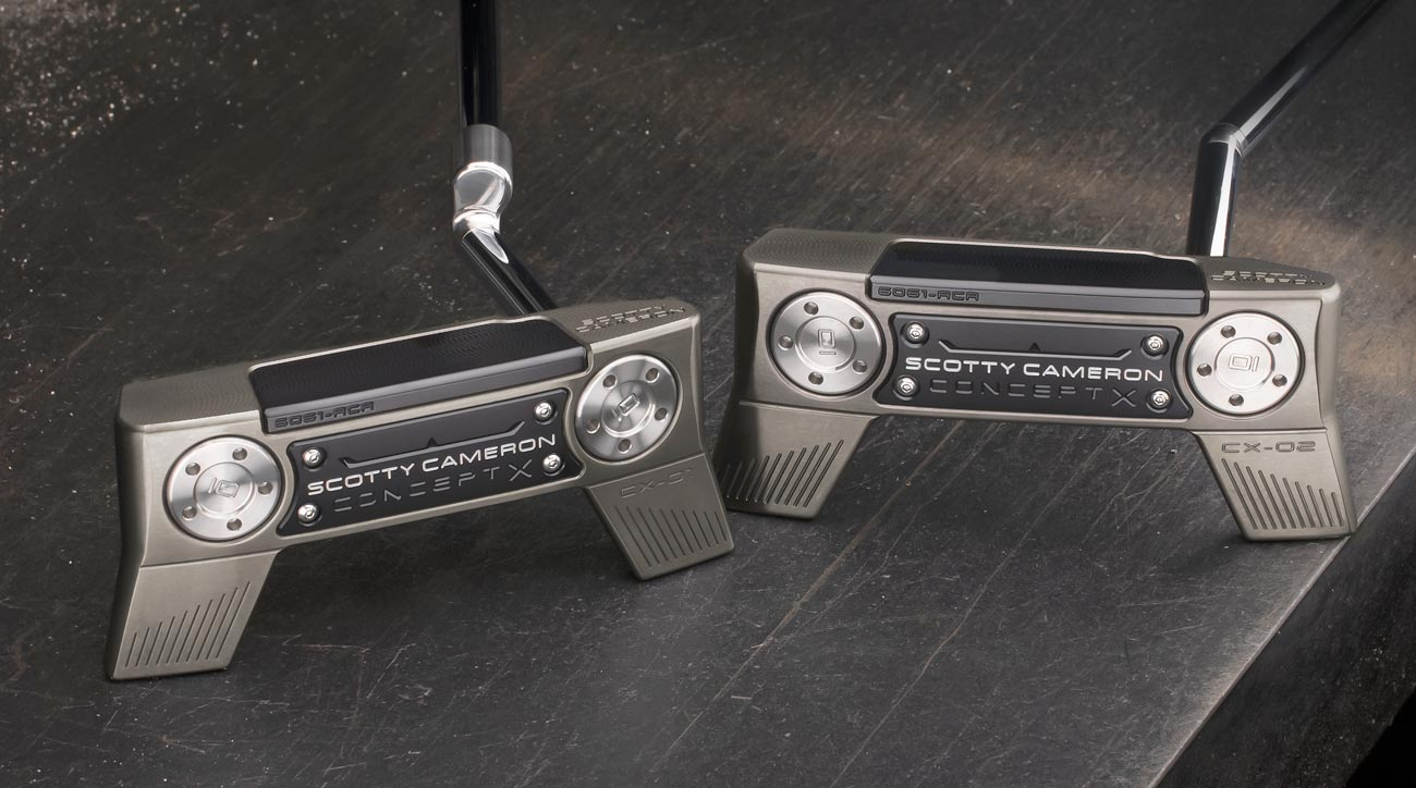 Scotty Cameron Concept X putter models