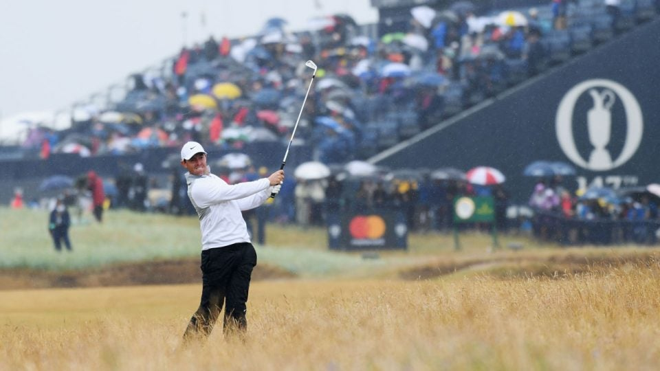 Rory McIlroy at British Open