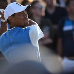 Tiger Woods kicked off the British Open with a 71.