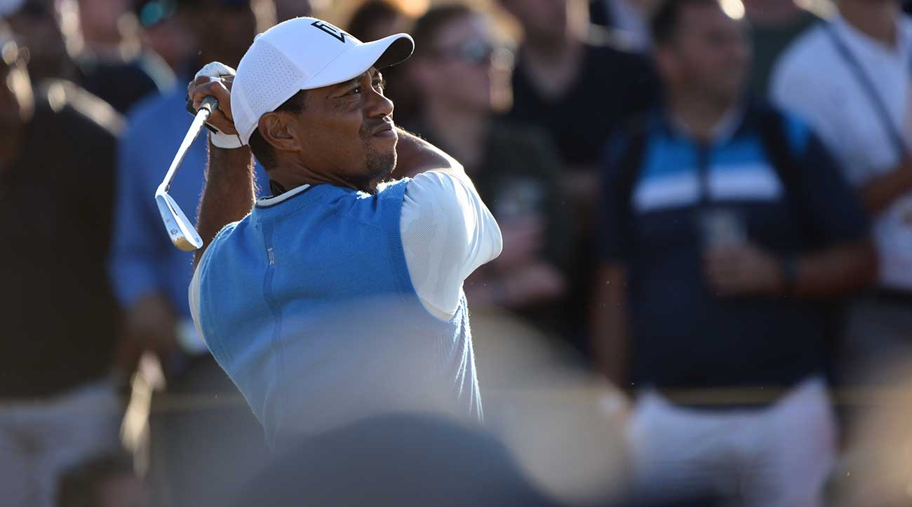 tiger woods has work to do after first