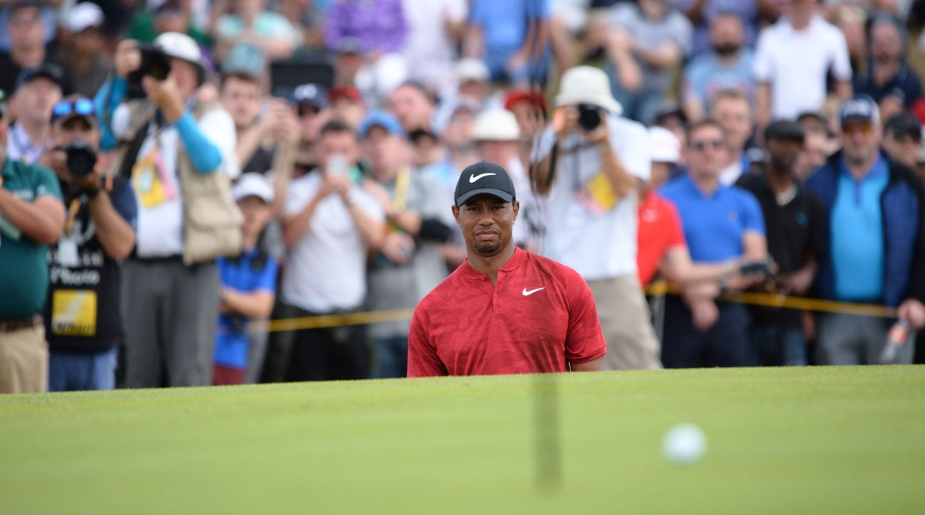Tiger Woods, 2018 British Open
