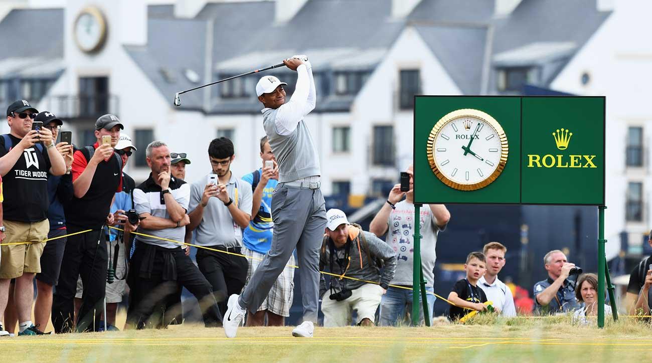 Tiger Woods Carnoustie
