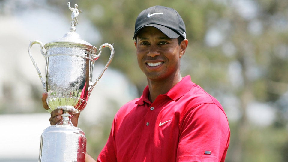 when did tiger woods last win a major championship
