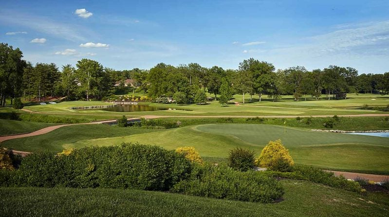 Bellerive Country Club, 11th hole