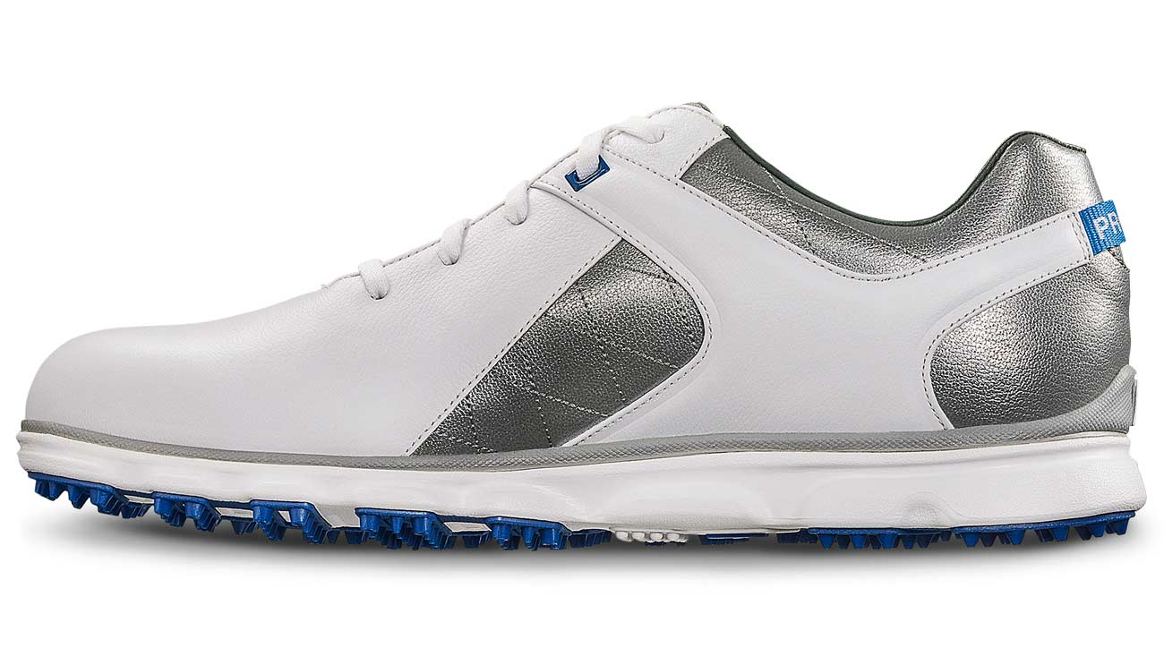 FootJoy's Pro/SL spikeless golf shoes.