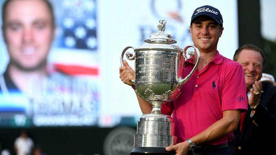 Justin Thomas PGA championship win