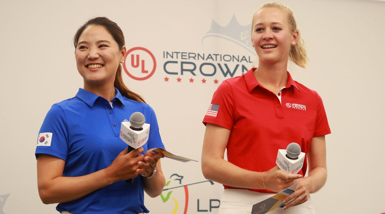 Jessica Korda and So Yeon Ryu